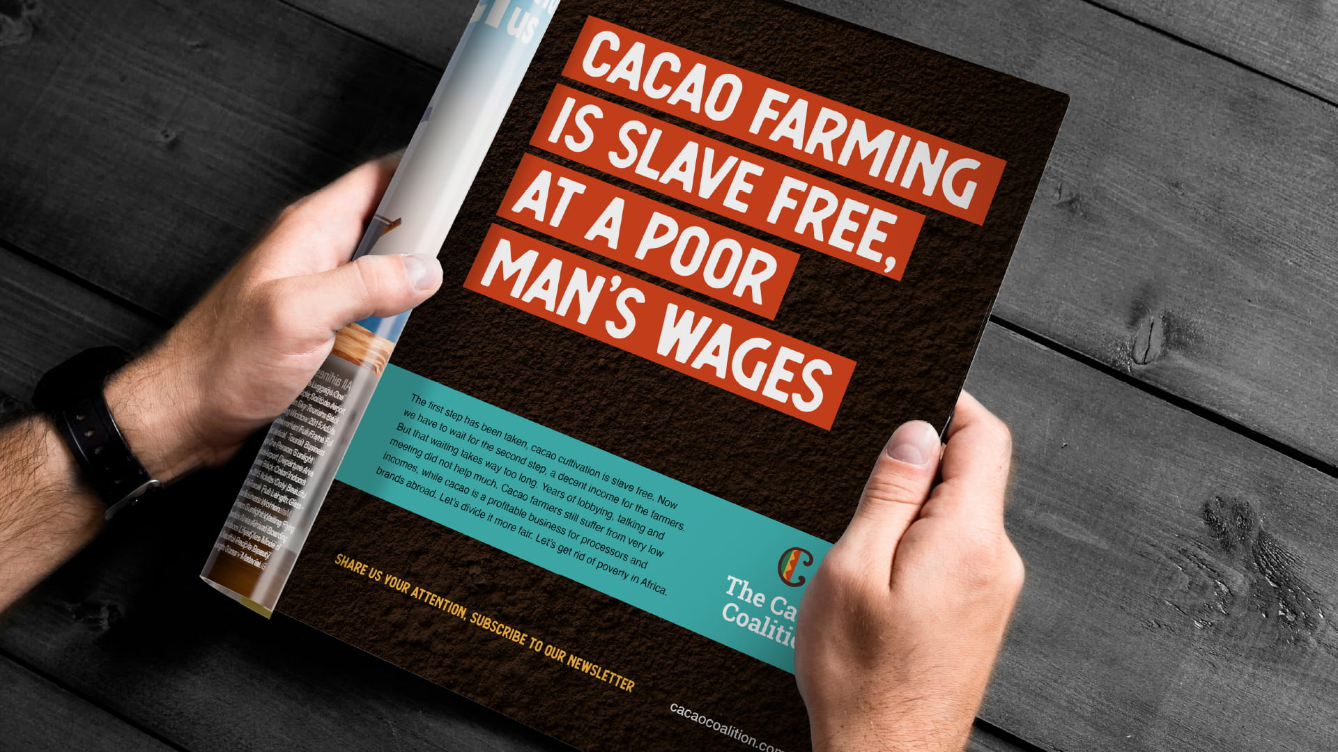 The Cacao Coalition Campagne Advertentie